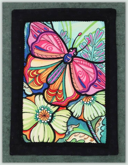 BFC1138 Ching Chou's Stained Glass Butterfly II