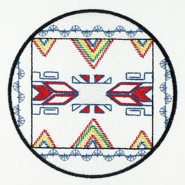 BFC1146 Native American Quilt Circles