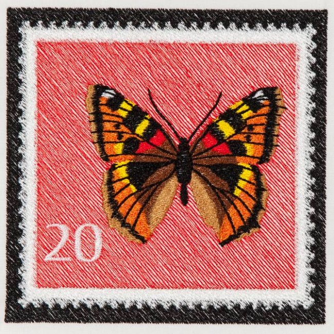BFC1160 Butterfly Stamps Complete