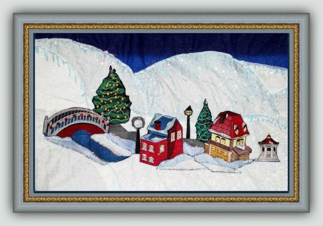 BFC1189 Christmas Village Series I Thread Kit
