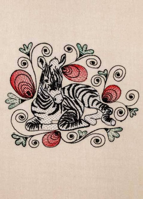 BFC1193 Decorative Elements Series Filled Zebras