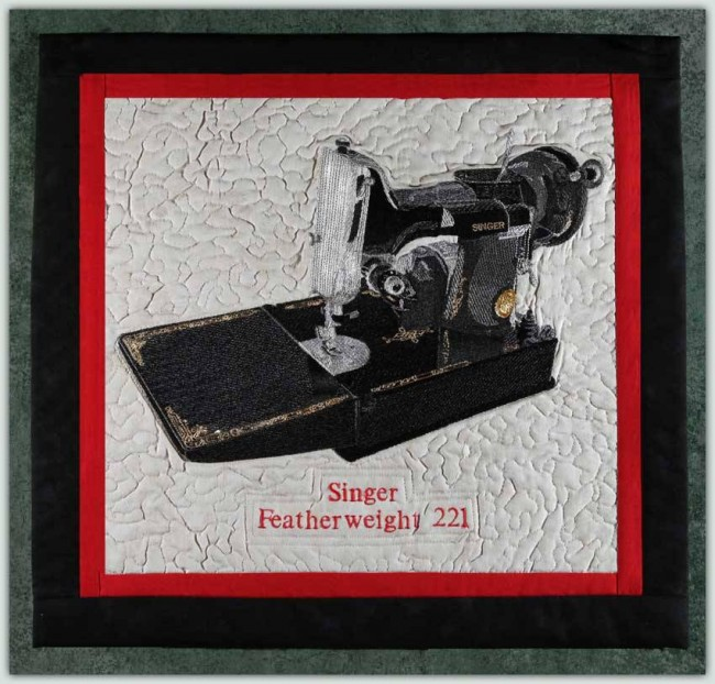 BFC1228 Singer Featherweight 221