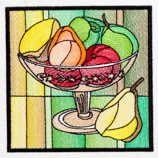 BFC1233 QIH Stained Glass Fruit Blocks II