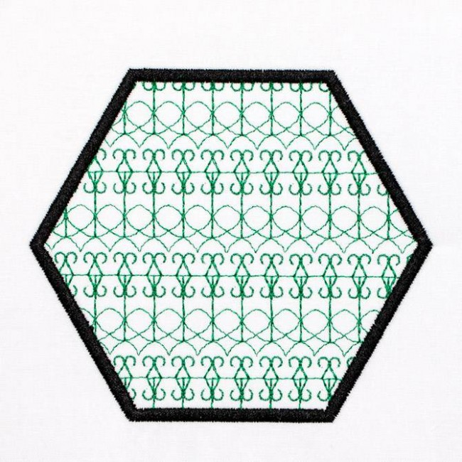 BFC1241 Applique Elements - Geometric