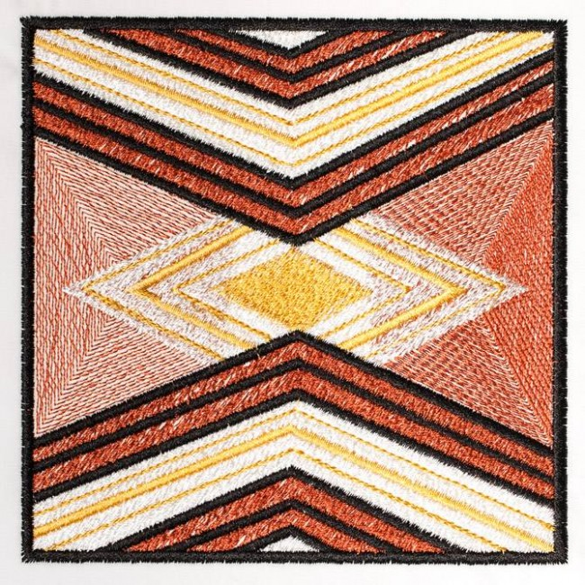 BFC1244 QIH- African Textile Squares II
