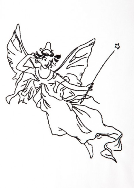 BFC1245 Blackwork Fairies II
