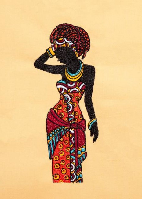 BFC1259 African Chic