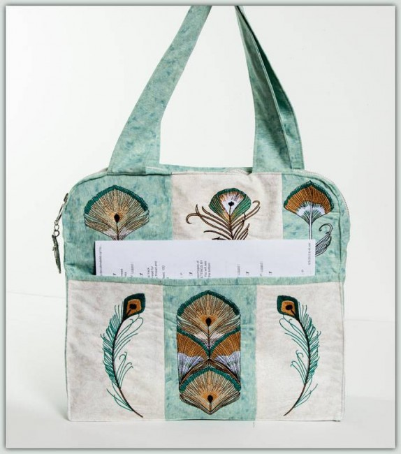 BFC1267 Sophisticated Feathers Handbag & Designs