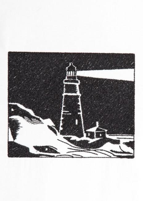 BFC1293 Blackwork Lighthouses