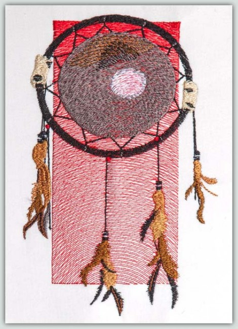 BFC1299 Three Dreamcatchers