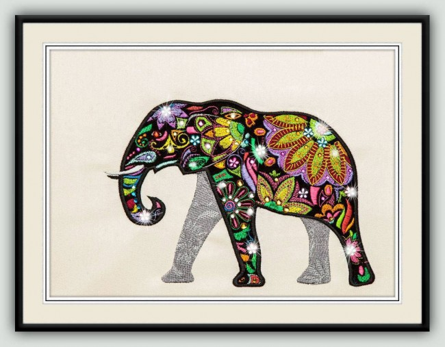 BFC1310 Embellished Elephants and Friends