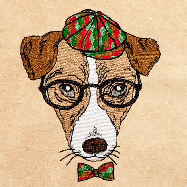 Hipster Canine 5