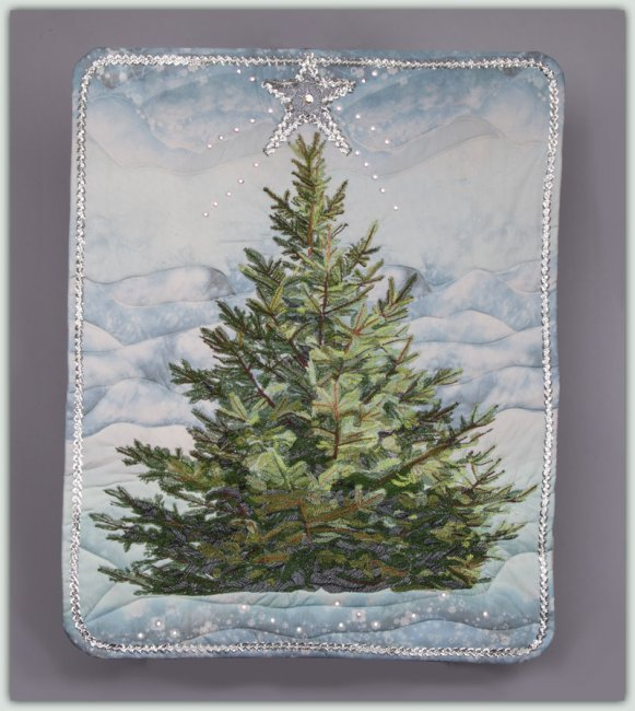 BFC1325 Large Christmas Tree 2013 Thread Kit
