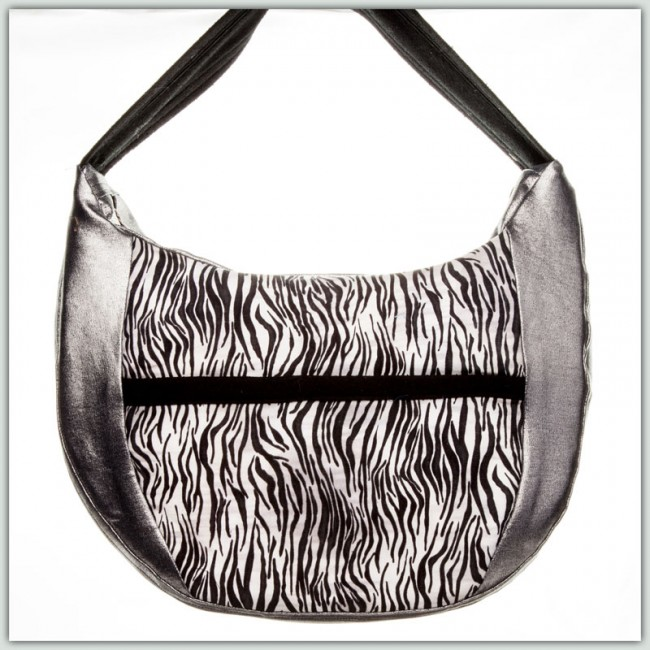 BFC1327 Large White Tiger Purse or Picture