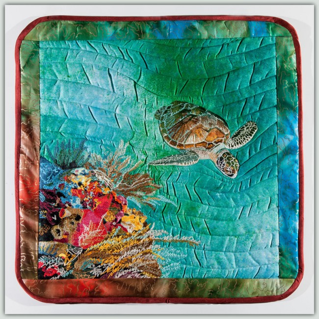 BFC1333 Sea Turtle Seascape