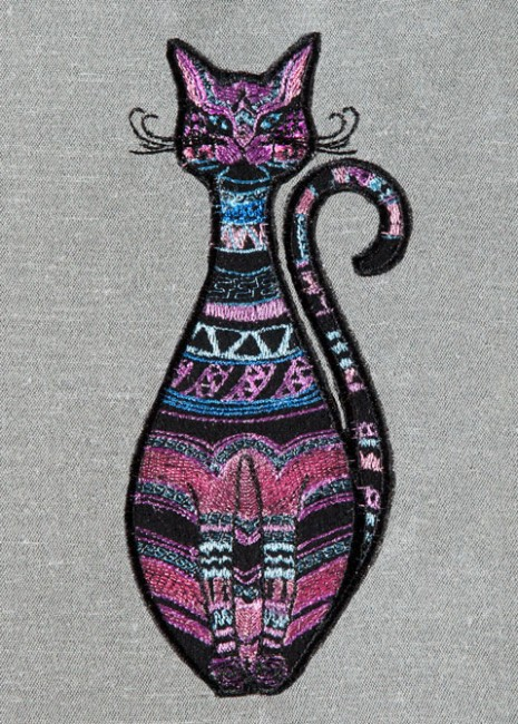 BFC1335 Embellished Cats