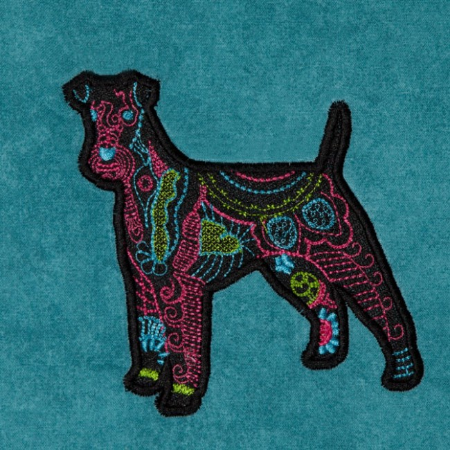 BFC1341 Embellished Dogs