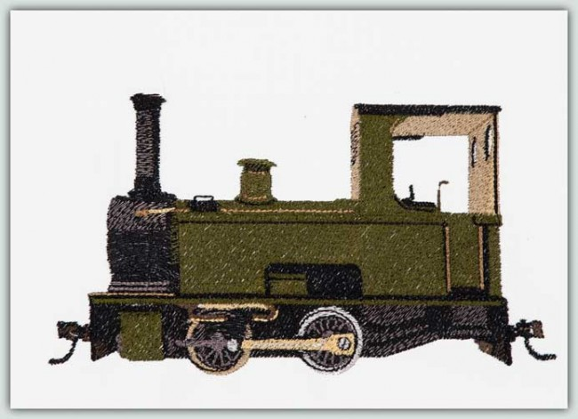 BFC1348 Three Toy Trains II