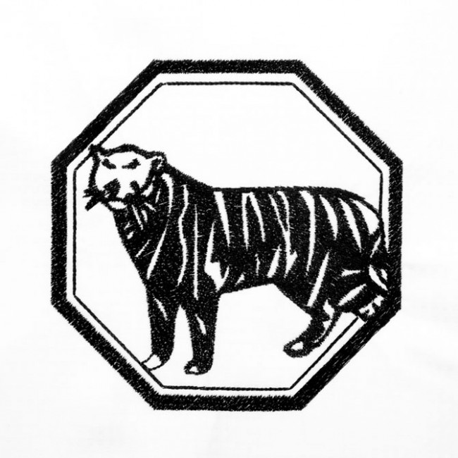 BFC1351 Blackwork Tigers