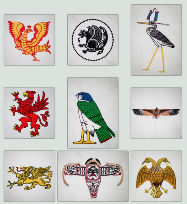 BFC1353 Birds of Mythology