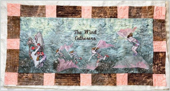 BFC1398 Fairy World - The Wind Gatherers