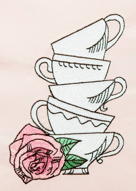 BFC1408 Tea & Roses Anyone?