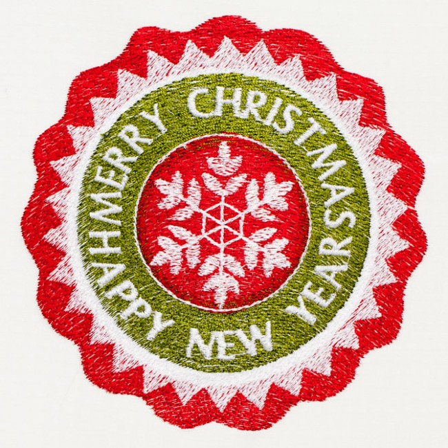 BFC1411 Christmas Labels