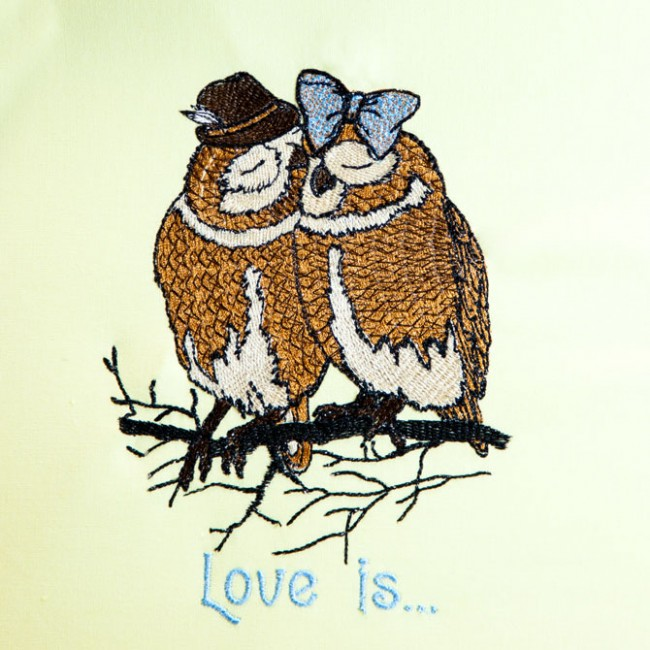 BFC1424 Hipster Animals in Love Filled