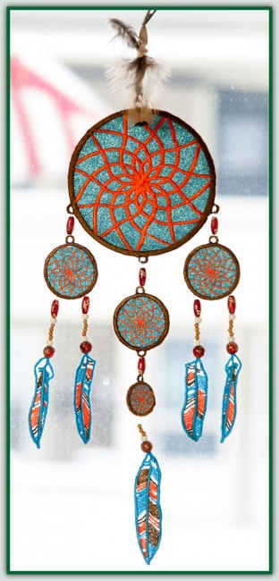 BFC1436 Dream Catchers for Organza