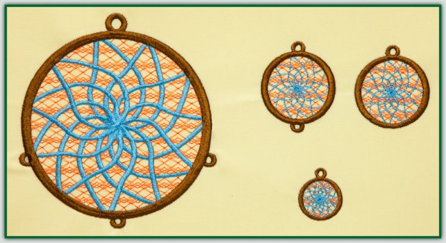 BFC1437 Dream Catchers for Fabric