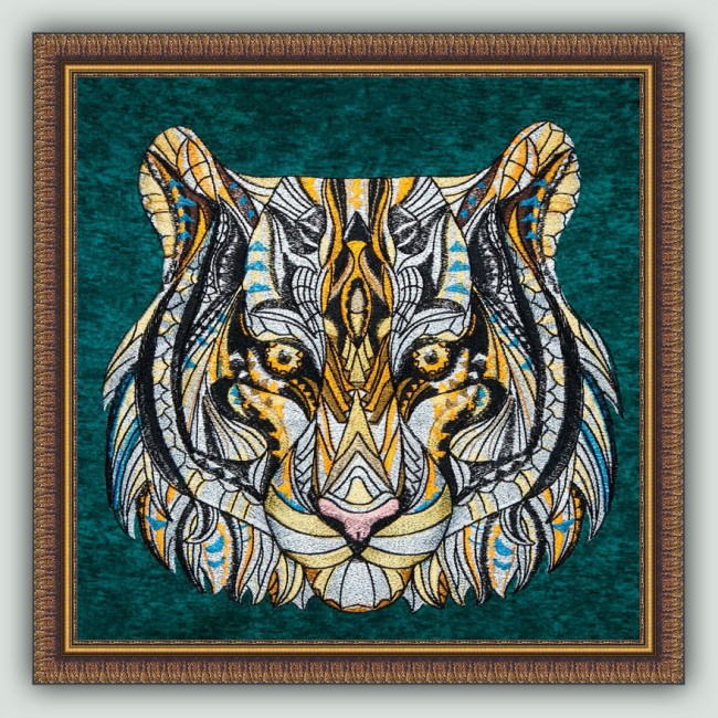 BFC1438 Large Tribal Tiger