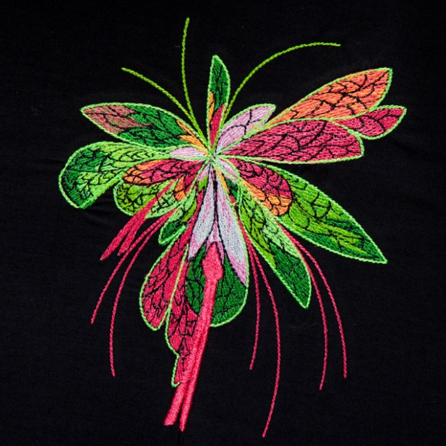 BFC1441 Fractilicious Flowers - 6