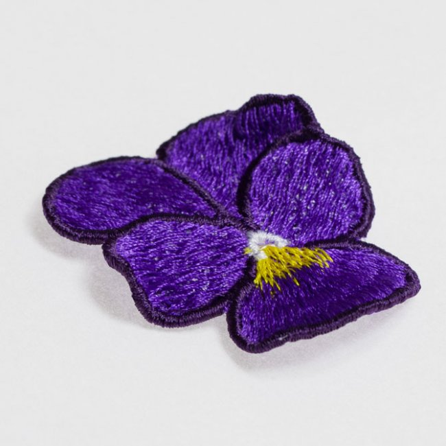BFC1450 FSL Purple Pansy
