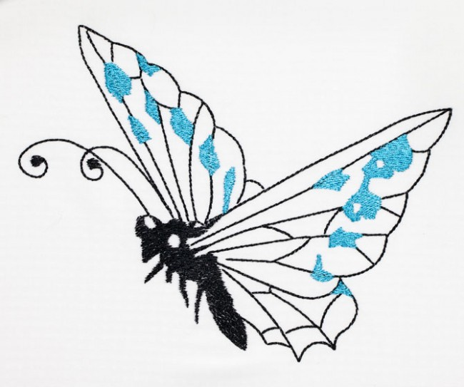 BFC1457 Fanciful Butterflies