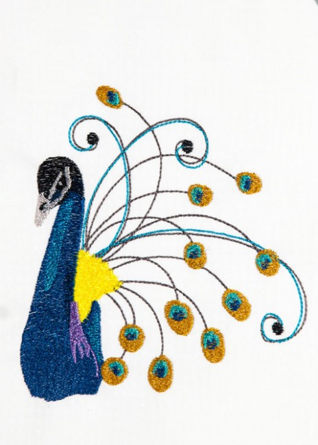 BFC1477 Decorative Peacocks