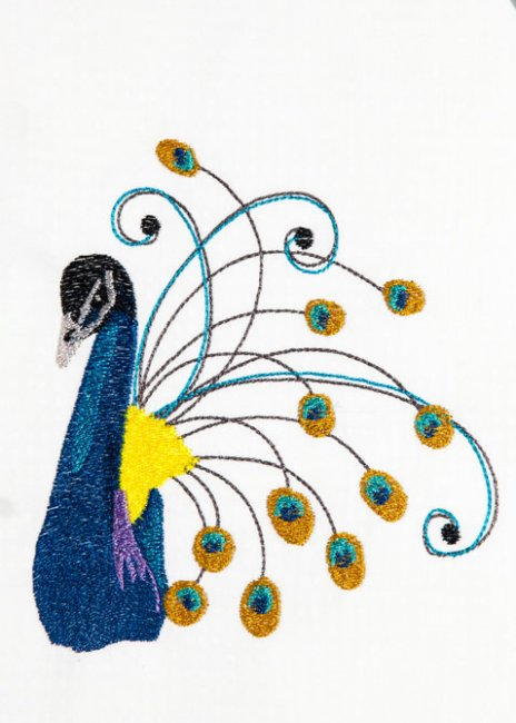 BFC1477 Decorative Peacocks 08