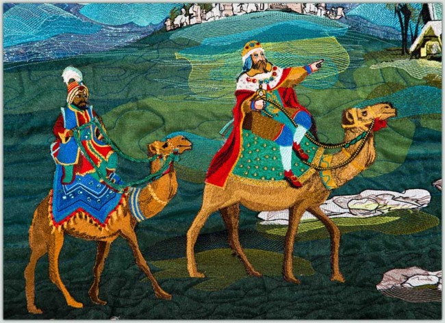 BFC1502 Approach of the Three Kings - Balthasar