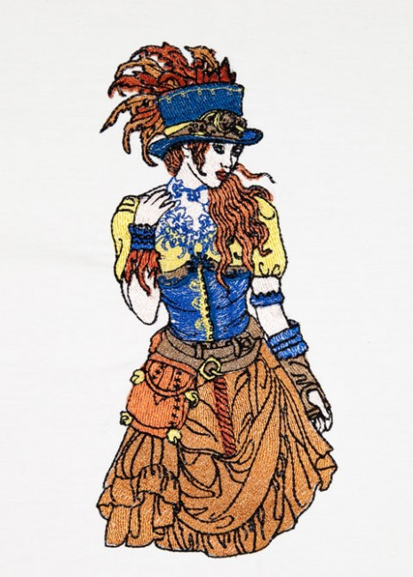 BFC1532 Steampunk Fashions
