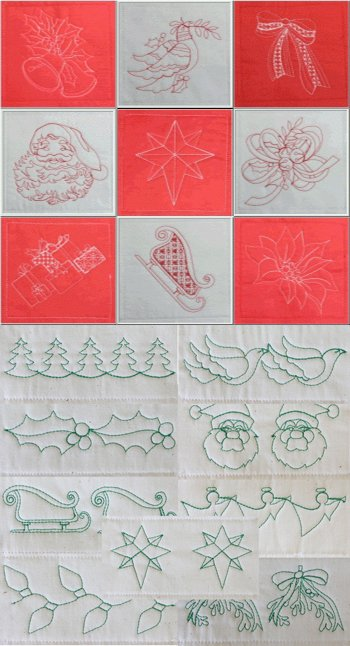 BFC1563 Christmas Quiltables