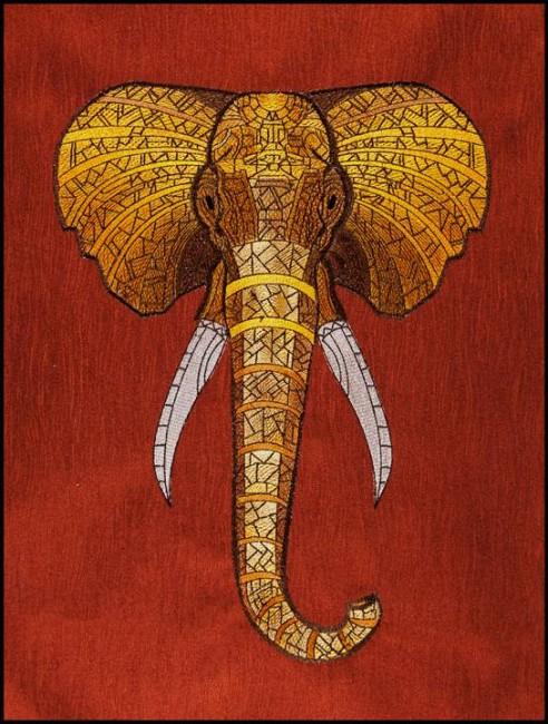 BFC1565 Large Decorative Bronze Elephant