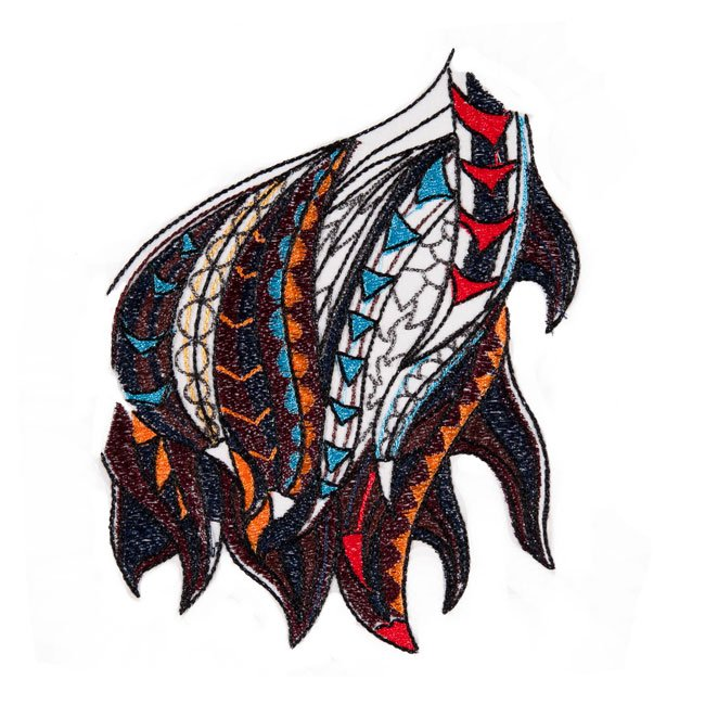BFC1576 Large Tribal Eagle