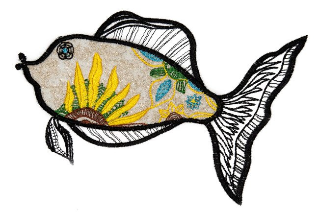 BFC1581 Applique or Not Fishy Friends