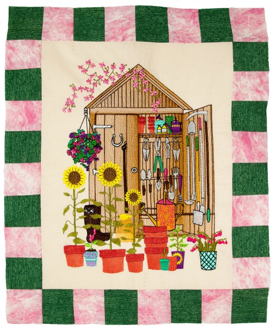 BFC1633 Gardening Quilt Collection - The Tool Shed