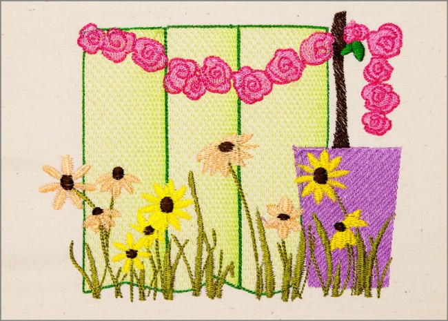 BFC1641 Gardening Quilt Collection - Garden Party