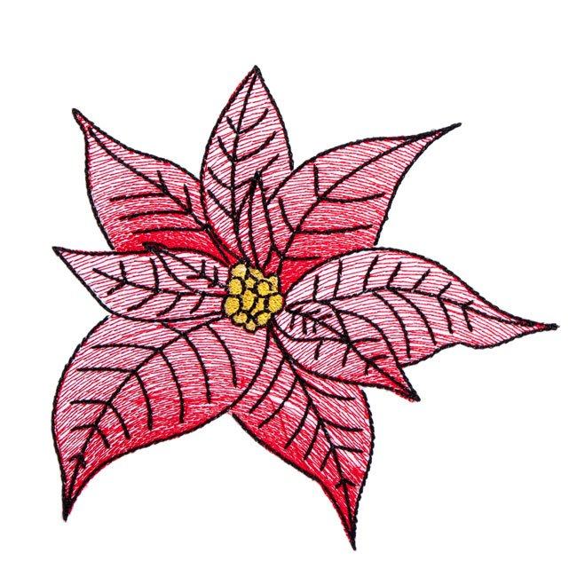 BFC1706 Quick and Easy Poinsettias