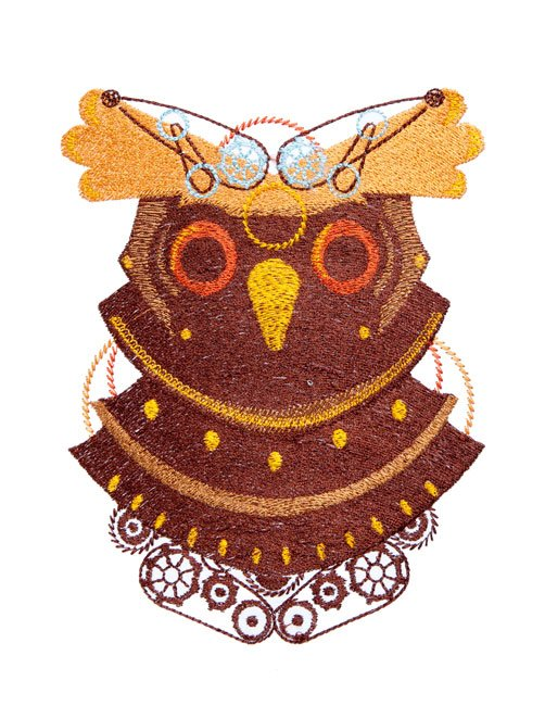 BFC1718 Steampunk Owls