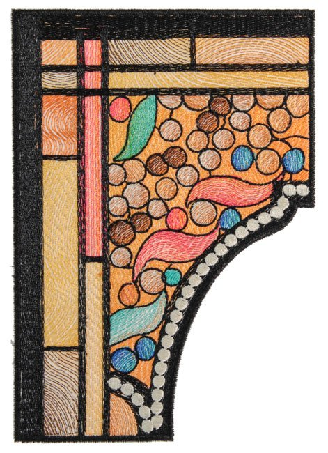 BFC1751 Tiffany's Stained Glass Four Seasons - Winter
