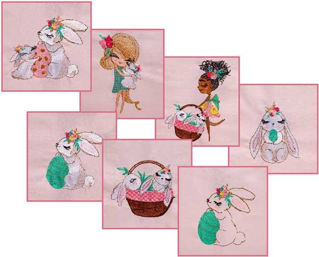 BFC1796 Captivating Bunnies for Easter