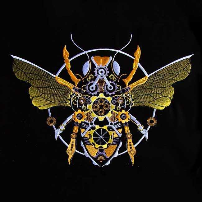 BFC1907 Steampunk Honey Bee