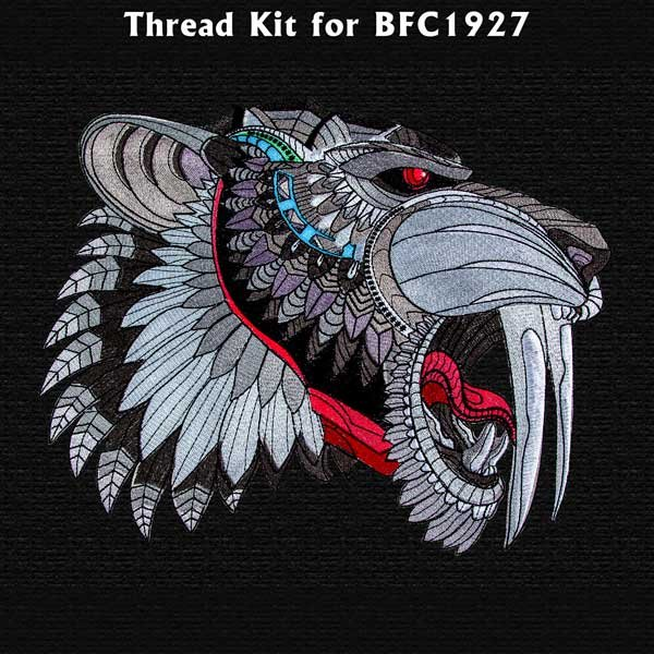 BFC1927 Large Saber Tooth Tiger Thread Kit